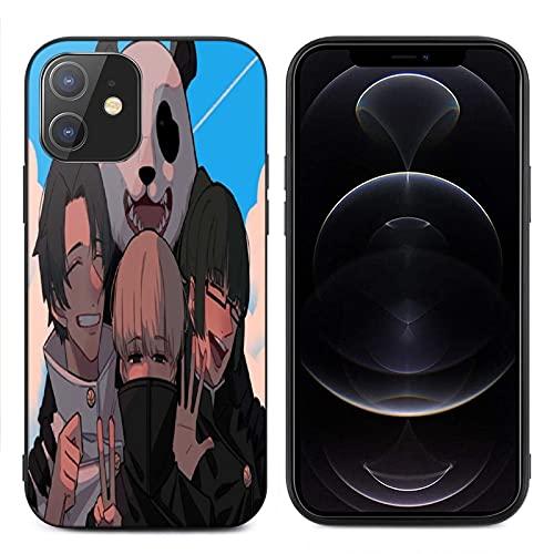 C-onjure - Carcasa para iPhone 12 (cristal templado)
