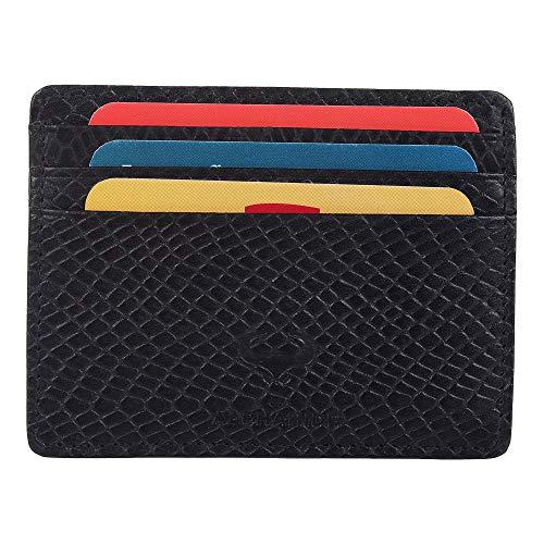 Hugo Enrico Mens Wallet BiFold Genuine Leather Flip Coin Note Card Holder Gift