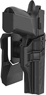 TEGE OWB Holster Compatible with CZ P07 P09, Tactical 360 Degrees Adjustable Outside Waistband Paddle Holster Fits CZ P-07 P-09, Open Carry, Right-Handed