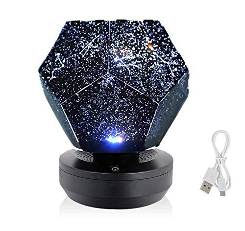 SUN100 Proyector De Cielo Estrellado Luces De La Vía Láctea Luces De Noche Estrellada Luces De Noche Estrellada Tragaluz Niños
