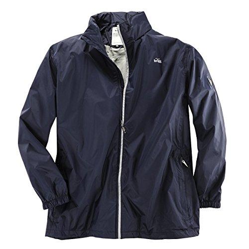 Brigg Outdoor Regenjacke dunkelblau Übergröße, XL Größe:3XL
