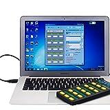 SLJZ Tastiera Personalizzata AYSMG/Tastiera Fai-da-Te con Display LCD