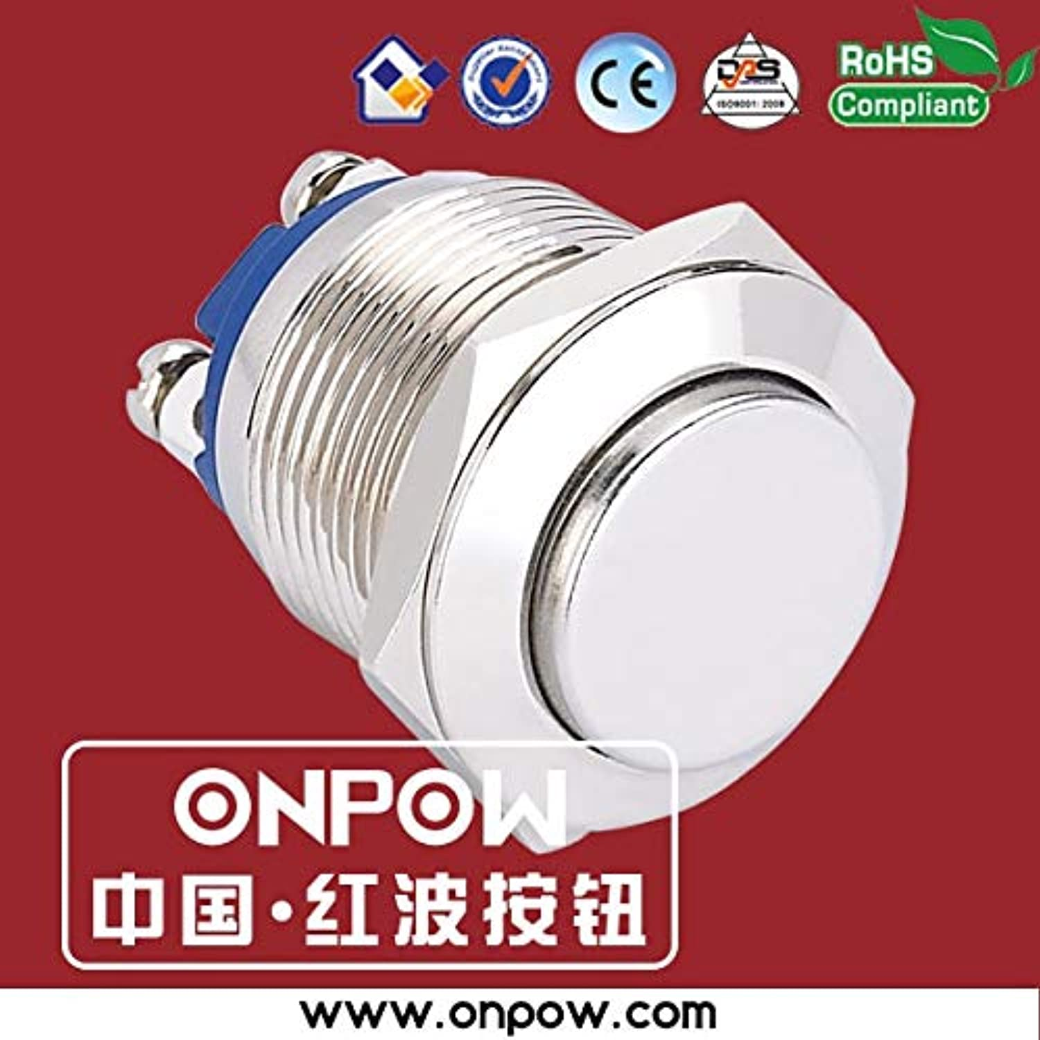 19mm high Head pushbutton Switch GQ19H10 N