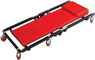 Heavy Duty Car Creeper Folding Workshop Crawler 6 Wheels with Headrest for Garage Workshop Inspection Wit Load Capacity 120 Kg