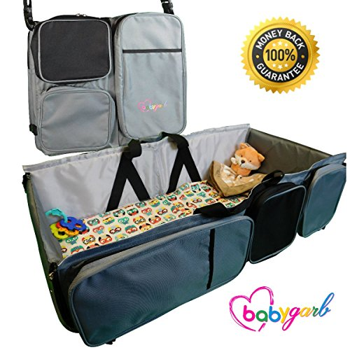 BabyGarb EZ Travel Bed for Infants