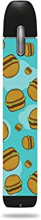 MightySkins Skin Compatible with My Von ERL - Burger Heaven | Protective, Durable, and Unique Vinyl Decal wrap Cover | Easy to Apply, Remove, and Change Styles | Made in The USA