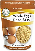 Judee's Whole Egg Powder (24 OZ -1.5 lb) (Non-GMO, Pasteurized, USA Made, 1 Ingredient, Produced from the Freshest of Eggs)(50 lb Bulk Size Available)
