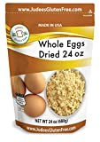 Judee's Whole Egg Powder 1.5lb (24 oz) - Non-GMO, Pasteurized, USA Made, 1 Ingredient, Produced from the Freshest of Eggs