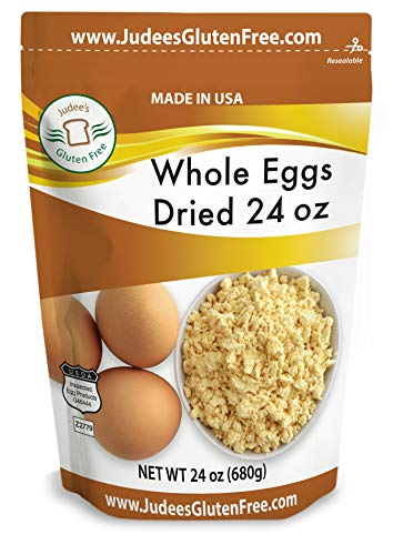 Judee's Whole Egg Powder (24 OZ -1.5 lb) (Non-GMO, Pasteurized, USA Made, 1 Ingredient, Produced from the Freshest of Eggs)