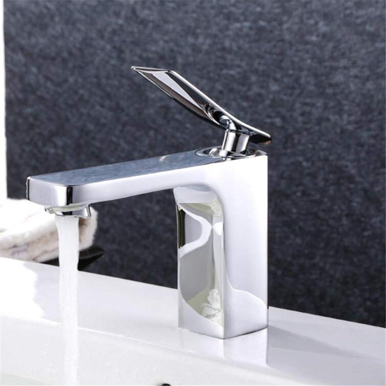 360 ° drehbarer Wasserhahn Retro Wasserhahn Quadratischer Hochwertiger Wasserhahn Warmes und kaltes Wasserhahn