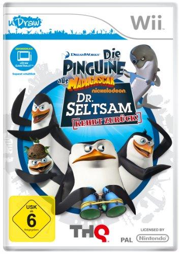 Die Pinguine aus Madagascar: Dr. Seltsam kehrt zurück (für Wii + uDraw Game-Tablet)
