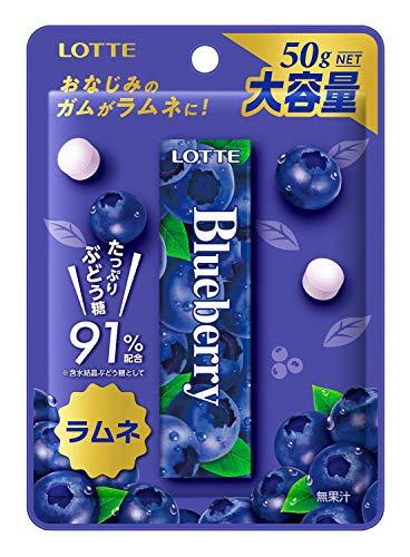 ロッテ ブルーベリーラムネ 50g ×10袋