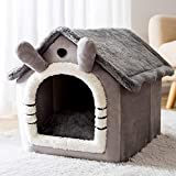 VENTDOUCE Cat Bed, Snuggle Cave Cat Cat Cave, Warm Dog House Fluffy Pet Pet Nest Indoor Sleeping Bag Outdoor Dog Bed Cat Bed Pet Sleeping Bag Animal House for Small Cats