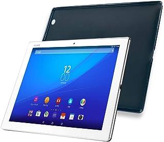 Xperia Z4 Tablet スマホカバー XPERIA Z4 Tablet SOT31 / SO-05G / SGP712JP ケース スマホケース 薄型Abefirst TPU シリコン エクスペリアZ4タブレット ケース 黒 Xper...