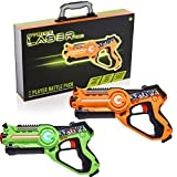 Strike Laser Tag 2 Player Pack & Deluxe Carry Case - Kids Infrared