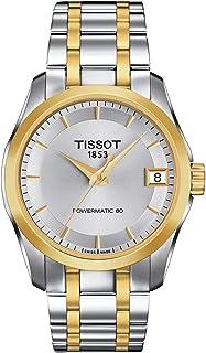 ساعة تيسوت كوتيرير باور ماتيك 80 للنساء T035.207.22.031.00