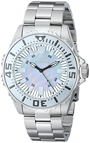 Invicta Men's 17693 Pro Diver Analog Silver-Tone Stainless Steel Watch with Link Bracelet