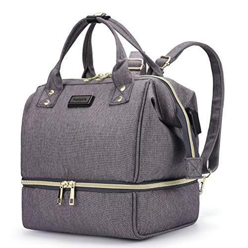 HaloVa Diaper Bag, Mini Mommy Maternity Baby Nappy Backpack,...