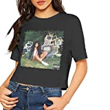 DaihAnle SZA Ctrl Summer Women's Fashion Breathable Short-Sleeved T-Shirt Black