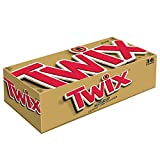 Twix Full Size Caramel Chocolate Cookie Candy Bar, 1.79 Oz. 36-Count Box