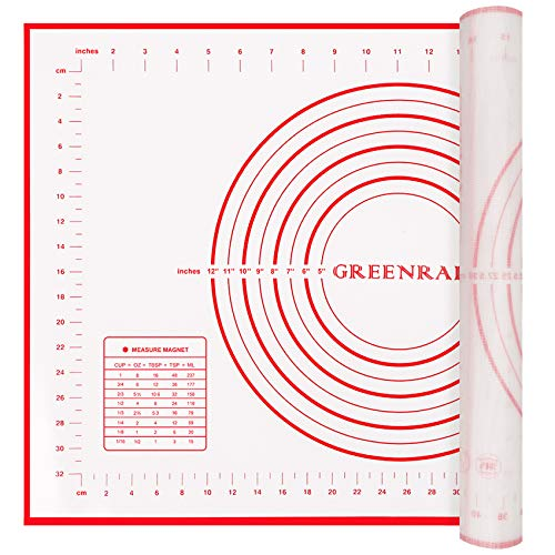 Greenrain Silicone Pastry Baking & Pie Crust Mat