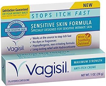 Vagisil Maximum Strength Feminine Anti-Itch Creme for Women, 1oz