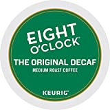 Eight O'Clock Coffee The Original Decaf, Single-Serve Keurig K-Cup Pods, Medium Roast Coffee, 48 Count
