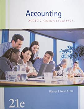Accounting: Acctg 2: Chapters 12 and 14-25 032437240X Book Cover
