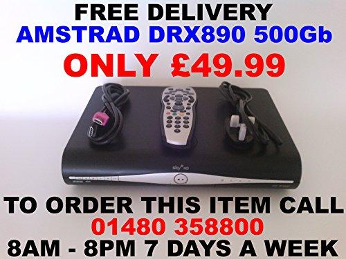 SKY PLUS + HD BOX - 500GB - SKY AMSTRAD DRX890 - ON DEMAND,