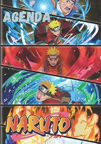 Agenda Naruto: Naruto Calendar 2021 agenda notebook planner...