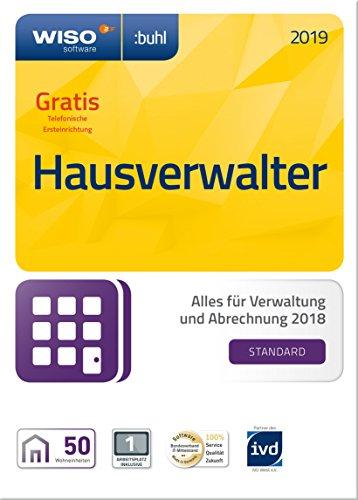 WISO Hausverwalter 2019 Standard - Die Rundum-sorglos-Lösung für kleine Hausverwaltungen und Eigentümer (Frustfreie Verpackung)