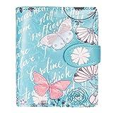 Shagwear - Piccolo portafoglio Multicolore Farfalla Dell'annata Turchese/Vintage Butterfly S