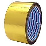 ダイヤテックス クロスカットテープ 梱包用 50mm×10m ゴールド