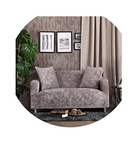 Hotmoment-uk Fundas de sofá de color sólido de terciopelo rosa gruesa, funda de toalla elástica para todo tipo de muebles, B, 1 plaza, 90 – 140 cm