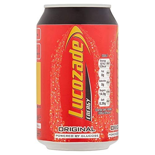 Lucozade Energy Original Can 4x330Ml