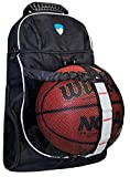 Hard Work Sports Basketball Backpack With Ball Compartment...