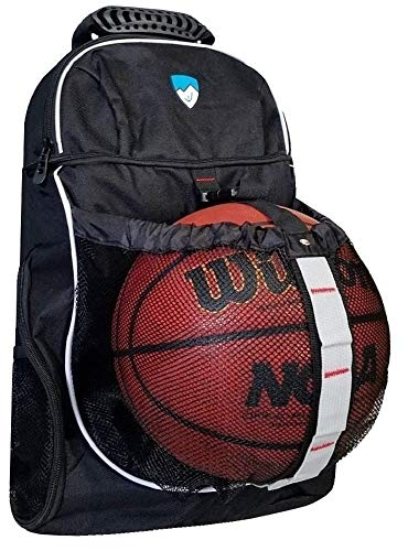 Hard Work Sports Basketball Backpack With Ball Compartment and Shoe Gym Bag