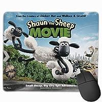 マウスパッド Shaun The Sheep 可愛い おしゃれ 携帯 25x 30cm ラバーマウスパッド デスクトップ ノートブックマウスマット 北欧 仕事とゲーム用 ゲーミングマウスパッド ゲーミング キーボードパッド 防水 ズレない かっこいい アニメ 滑り止め 高級感 耐摩耗性 高耐久性 キャラクター