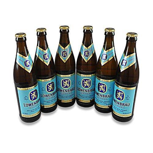 Löwenbräu Original (6 Flaschen à 0,5 l / 5,2 % vol.) inc. 0.48E MEHRWEG Pfand
