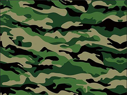 SZQ-Inpakpapier Groen inpakpapier, Pattern Camouflage Decoratief papier Restaurant achtergrond Decoratief papier Military verpakkingsmaterialen van de gift Cadeaupapier (Color : B, Size : 70 * 100CM)