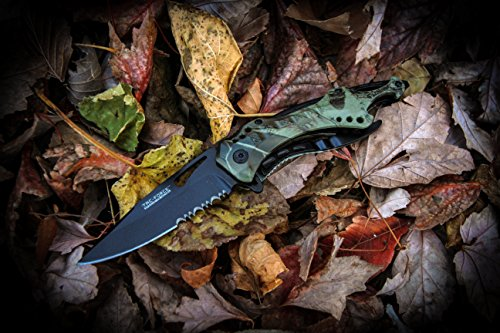 """TAC Force TF-705GC Tactical Spring Assisted Knife 4.5"""" Closed"""