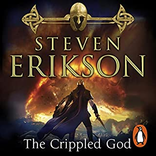 The Crippled God     The Malazan Book of the Fallen 10              Written by:                                                                                                                                 Steven Erikson                               Narrated by:                                                                                                                                 Michael Page                      Length: 45 hrs and 20 mins     1 rating     Overall 5.0