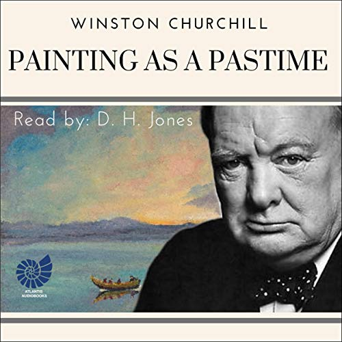Painting as a Pastime audiobook cover art