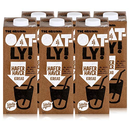 Oatly - Haferdrink Kakao - Packung mit 6 (6 x 1 liter)