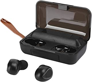Socobeta Auricolari Wireless TWS Cuffie Bluetooth 5.0 con Display Digitale a LED Touch(Nero)