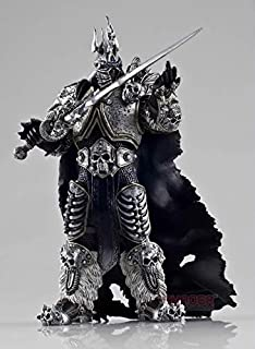 WOW WORLD OF WARCRAFT - FIGURA FALL OF THE LICH KING ARTHAS 18cm / 7