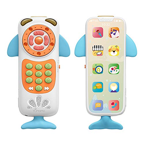 Fantastic Prices! Entweg Learning Telephone,Baby Mobile Phone Toys for Baby Music Phone Early Educat...