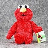 Peluches - 36cm Sesame Street Elmo Muñeca De Peluche Suave Colección Figuras Muñecas Para...