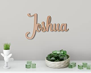 Kids Wall Decor. Wooden Name Signs. Personalized DIY Gifts. Unpainted Name Sign. (Different Sizes Available)