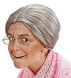 Grandma perruque taille enfant pour les personnes âgées Old Granny Pao...